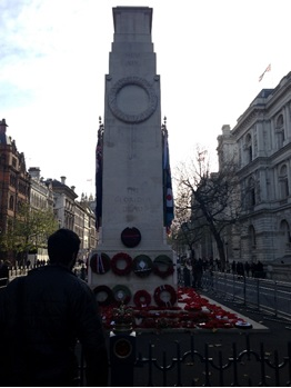 Figure 3: The Cenotaph, an austere and well known representation of remembrance in London